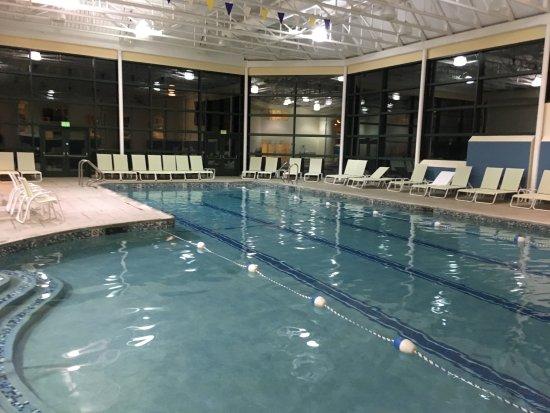Cranwell Spa & Golf Resort : Co-ed indoor pool