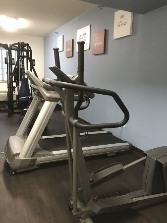 Comfort Suites South -- Amarillo : Updated Exercise Room