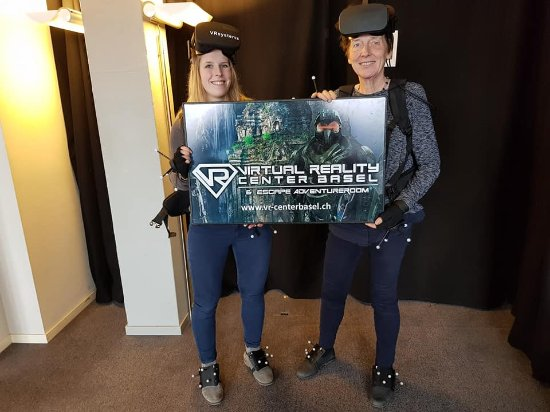Virtual Reality Center Basel und Escape Room