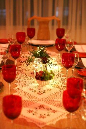 De la Trinidad Hotel: Detalles del Salon Vip del restaurant