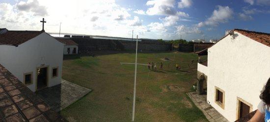 Santa Catarina Fort: vista de cima