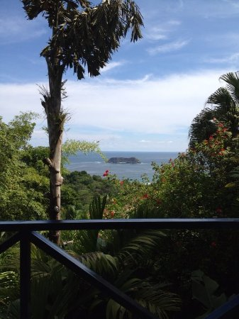 Hotel Villa Roca: View from Room 4.