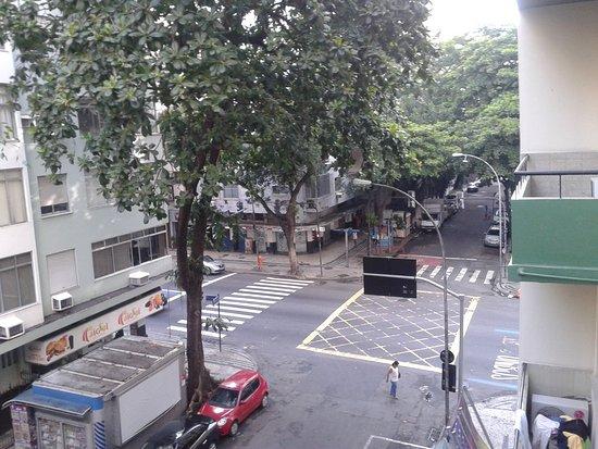 Apa Hotel: Vista do apartamento - Rep. Perú c/ Barata Ribeiro
