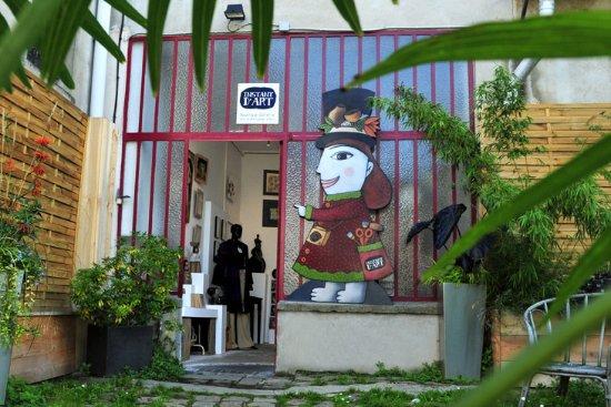 boutique-galerie Instant d'Art -  Auvers-sur-Oise