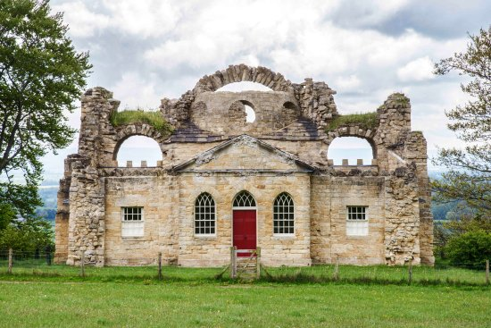 Grewelthorpe, UK: The Ruin, Hackfall