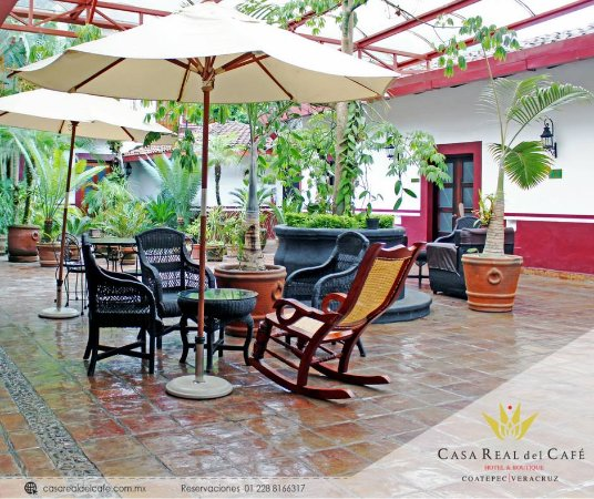 Hotel Casa Real del Cafe: Patio Central