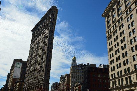 Flatiron Building: by day