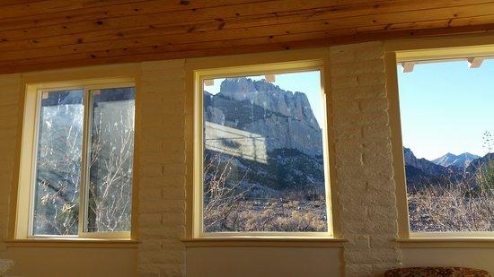Portal, AZ: spectacular windows looking up canyon