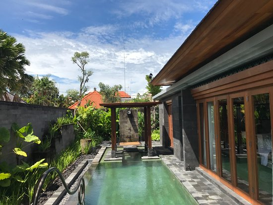 One Bedroom Villa Pool Picture Of Hotel Indigo Bali Seminyak Beach Tripadvisor