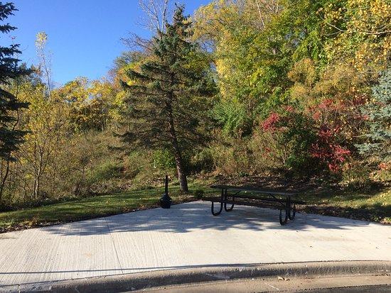 Savanna, IL: Outside sitting area