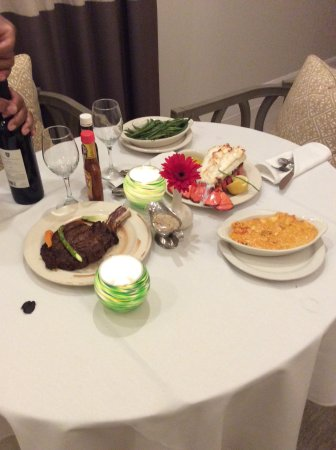 The Steakhouse: Birthday dinner