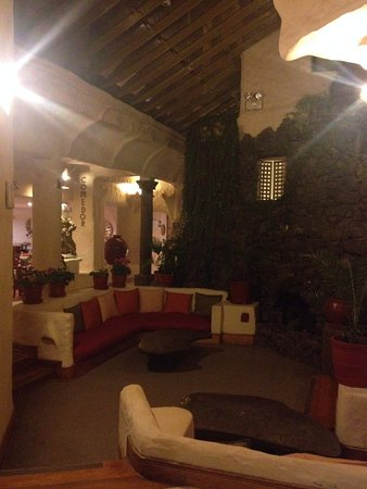 San Agustin International Hotel: Área da recepção