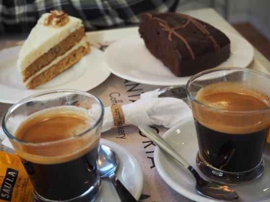 Santagloria Andorra: Cafés y tartas