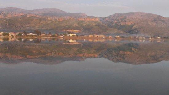 Vasso Katraki Museum : View from the isolated museum Katraki depository- The Lagoon