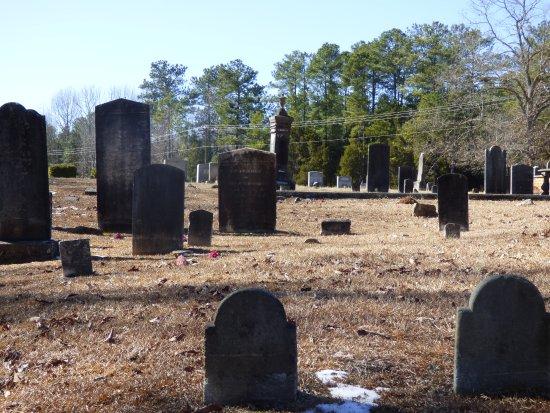 Old Waxhaw Presbyterian Church : graves