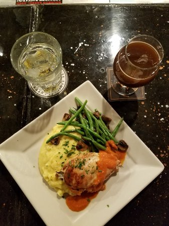 Boulder Junction, WI: Stuffed chicken breast