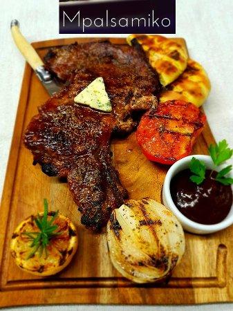 Περιοχή Κιλκίς, Ελλάδα: Shoulder Steak its a must option in Mpalsamiko!~