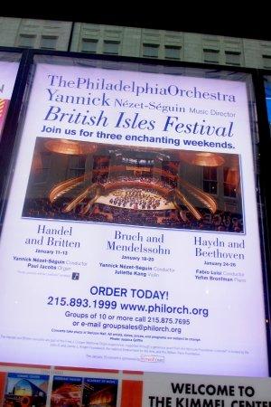 Kimmel Center for the Performing Arts: Philadelphia Orchestra celebrating the British Isles