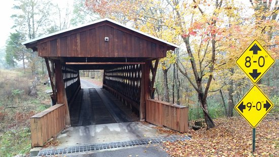 Easley Covered Bridge: October 2017