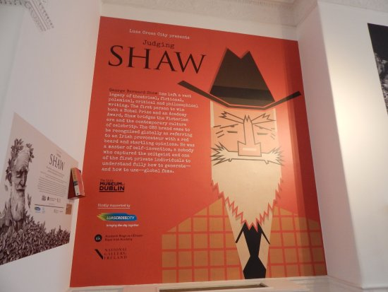 The Little Museum of Dublin: Shaw's exhibit was really interesting!