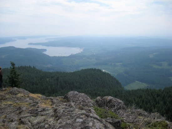 Campbell River, Canadá: View from top of Menzies Mountain.