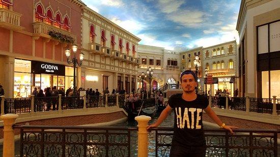 The Venetian Las Vegas C De Venecia Dentro Del Hotel Cielo Artificial