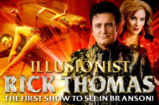 Illusionist Rick Thomas in Branson