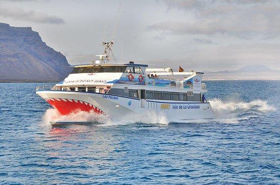 Lanzarote til La Graciosa Island...