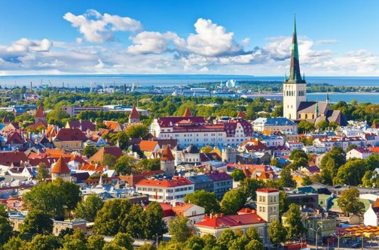 Guidet Tallinn Day Sightseeing fra...