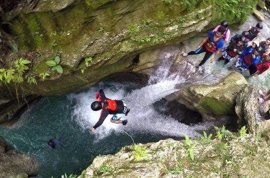 Badian Canyon Adventure from Cebu