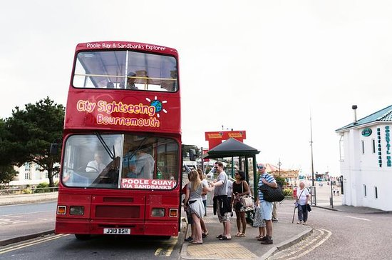 City Sightseeing Bournemouth Bus y...