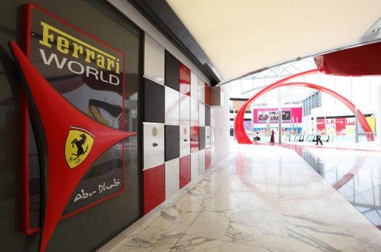 Visita Ferrari World Abu Dhabi da