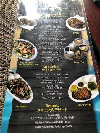 Terry's Local Comfort Food: Menu3