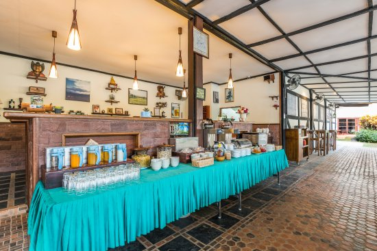 Eco Valley Lodge Khao Yai : Buffet breakfasts & a la carte lunches and dinners