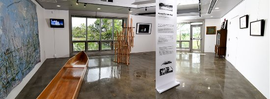 Homestead, Floride : The AIRIE Nest is the gallery and event space operated by Artists in Residence in Everglades,