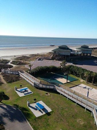 Holiday Inn Club Vacations Galveston Beach Resort: balcony view