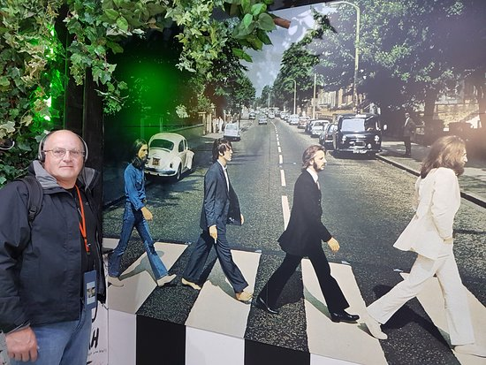 The Beatles Story Famous Photo Of Crossing Abbey Road With Me In