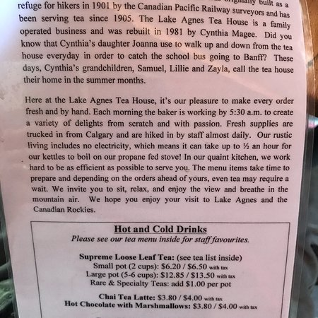 Lake Agnes Tea House: photo0.jpg