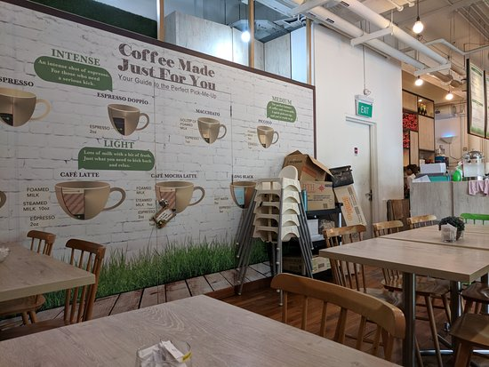 Cafe Crema: Inside cafe