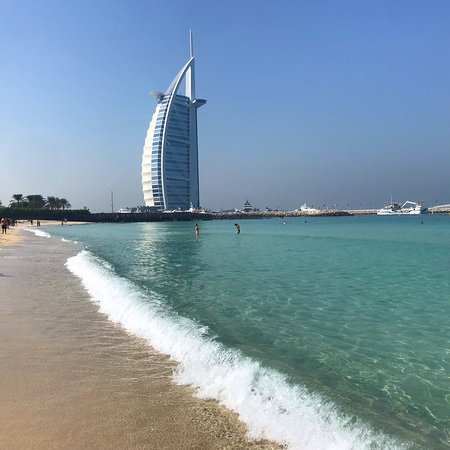 Lovely Burj Al Arab Backdrop Picture Of Umm Suqeim Beach Dubai