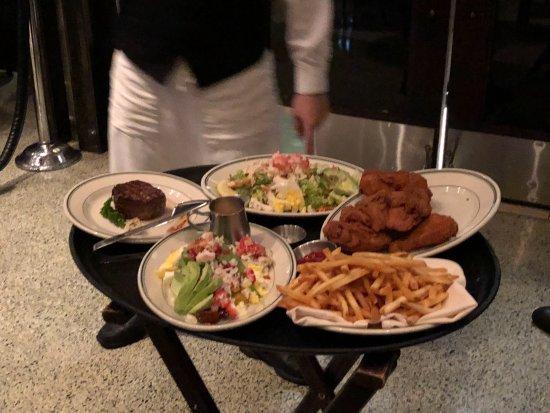 Joe's Seafood, Prime Steak & Stone Crab: les plats