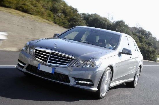 Cologna Veneta, Italien: Mercedes Berlina classe E