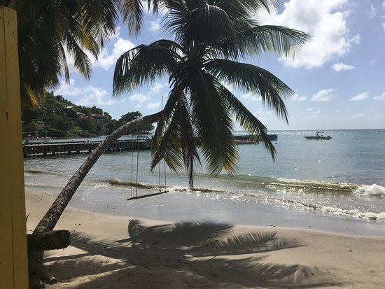Laborie, Saint Lucia: View from Salt Rush Cafe