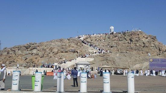 Jabal e Rahmat at Maidan e Arafaat - Picture of Mount Arafat