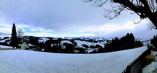 Schnuggebock: Restaurant view in winter