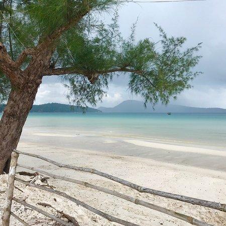 Koh Rong Samloem, กัมพูชา: Najpiękniejsza plaża w Kambodży