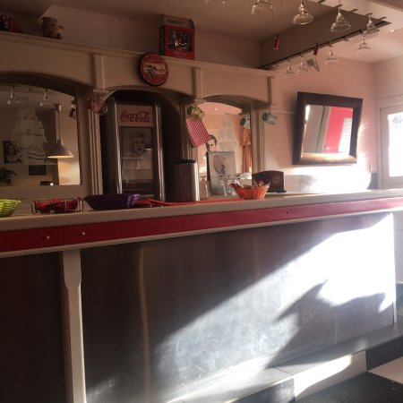Portarlington, Ireland: Real American diner feel
