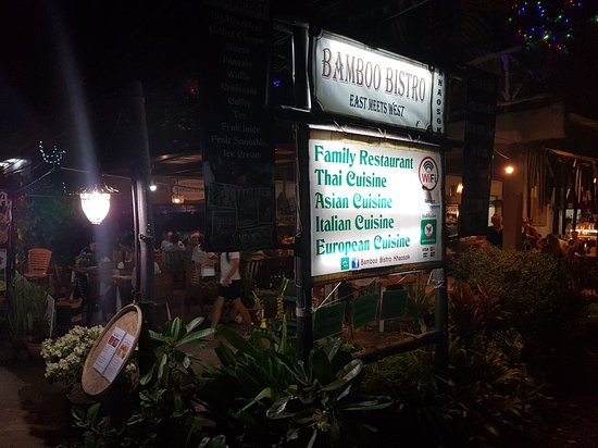 Bamboo Bistro Khaosok, Khao Sok National Park - Restaurant