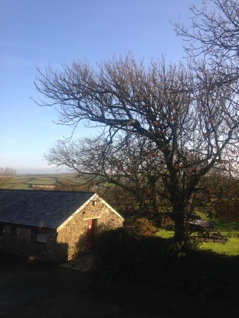 Boscastle, UK: View from our living room