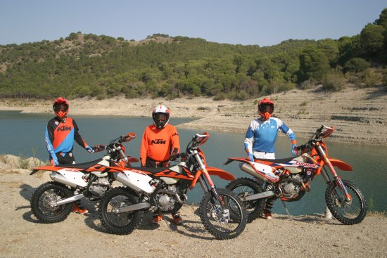 Alhaurin el Grande, Espanha: At the El Chorro Lakes enjoying our 2018 bike launch